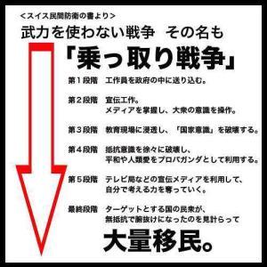 【重要】日本乗っ取り!!確実に日本が日本で無くなる日が来る
