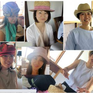 【募集】似合う帽子が見つかる『春夏帽子講座』
