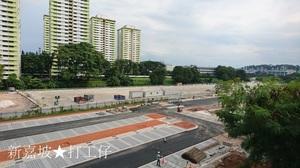 シンガポール鉄分補給シリーズ⑩実際に歩いた旧マレー鉄道跡地(Kampong BahruのMarshalling Yard)