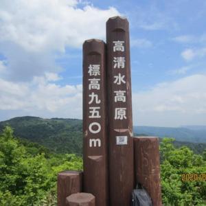 岡山・鳥取県境にある「高清水高原」を歩く