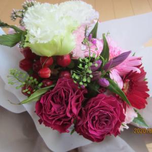 息子から敬老の日プレゼントは「フラワー:花」