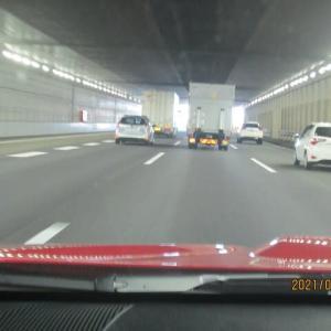 大和トンネル西側の拡幅工事完成(3⇒4車線)により渋滞がなく快適な走行が可能でした