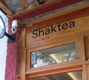 メキシコシティ、隠家的お茶屋さん ~Shakte~
