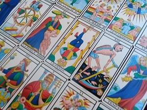 マルセイユ・タロット、何ども同じカードが出る