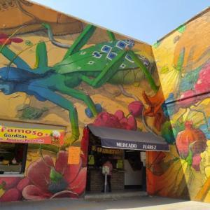 メキシコシティ、宇宙を感じるストリートアートたち