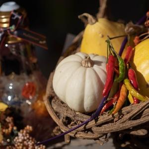 ハロウィンの季節のマルシェ