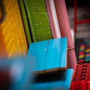 色彩が溢れる大須商店街