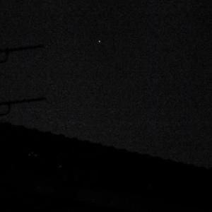 三日月と木星(たぶん)/10月31日