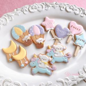 【募集】ゆめかわアイシングクッキーレッスン