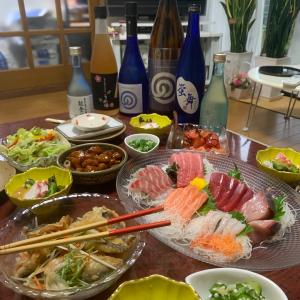 またまた日本酒の会。