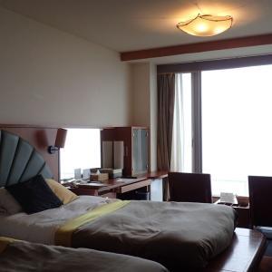 ワッカ温泉・サロマ湖鶴雅リゾートその1(部屋編)~サロマ湖畔に佇むリゾートホテル