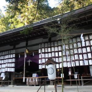 丹生川上神社三社巡り~下社・上社・中社(奈良)