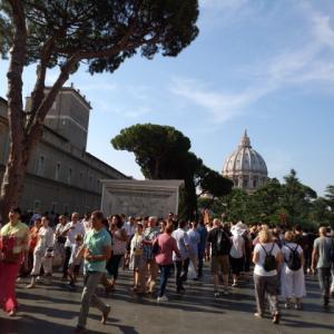 バチカン市国で過ごす観光最終日。