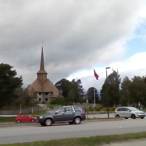 本日のトロルスティーゲン、ゲイランゲルへ。