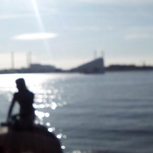 コペンハーゲン、人魚とともに。