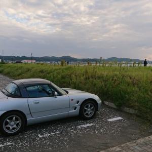 千葉県館山市へ。カプチーノでドライブ