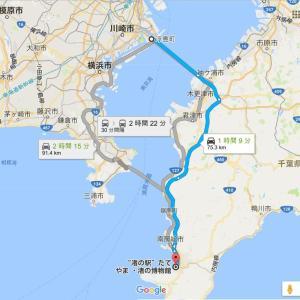 【再掲】GW前に知っておきたい館山からアクアラインまで帰る房総半島の抜け道