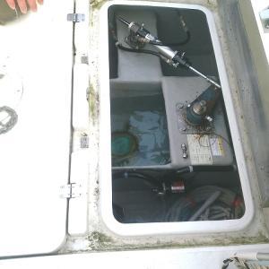 サクラマス釣り、ロープトラブル