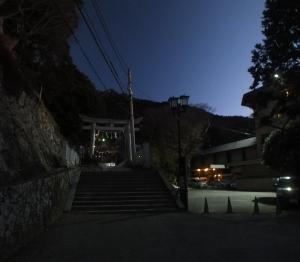 「新年初の登り(筑波山)」(編集中)
