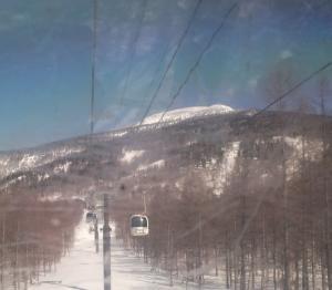 「西大巓(1982m)にスノーシューで登る」(2月28日)