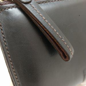 L字ファスナー長財布の修理