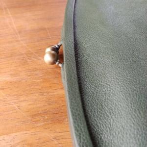 革巻き口金❤️親子がまぐち長財布
