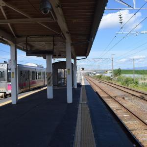四ツ小屋駅からイオンモール秋田へ歩く