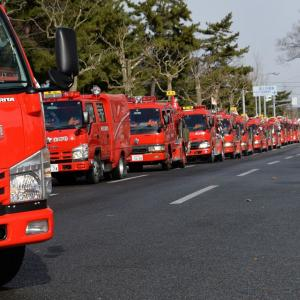 消防出初式・総社神社から日吉八幡神社、菅原神社へ