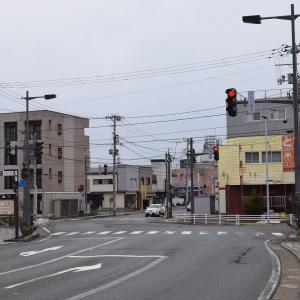 六道の辻から秋田市文化会館へ