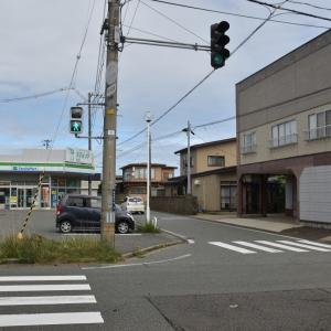勝平通りから商業高校、勝平新橋~国道13号線へ