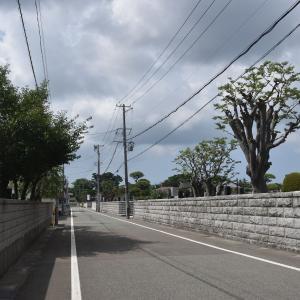 寺町から総社神社~川尻小学校へ