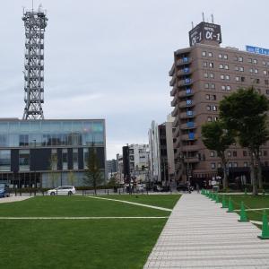 秋田駅から才八橋、南高校~羽後牛島駅へ