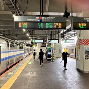 伊東へGO! 千葉から普通列車グリーン車乗り継ぎで向かいました