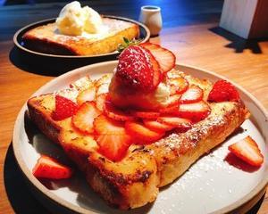 華やか〜!な、苺のフレンチトースト♪