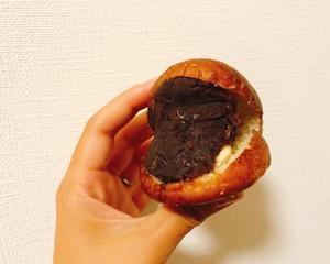友人が買ってきてくれたあんバターパン♪