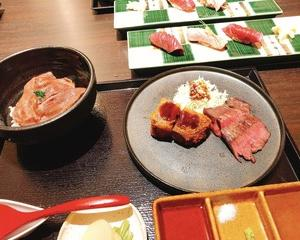 KINTANシリーズの牛肉寿司 きんたんへ♪