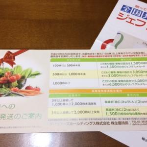 10月権利取得銘柄 毎年楽しみにしてる野菜優待♪