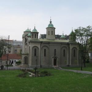 中欧編 Serbia(4)Belgrade 町歩き、途中から雨の話。
