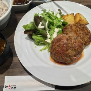 赤坂「やさいや」のハンバーグ