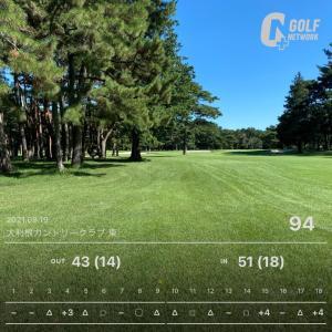 ラウンド#21~やはりゴルフには青空が似合う。