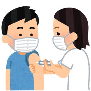新型コロナワクチンの1回目を接種しました