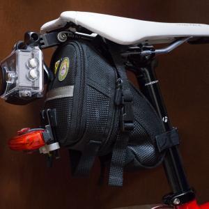 ロードバイクにリアカメラを付けてみた^^【ロードバイク】