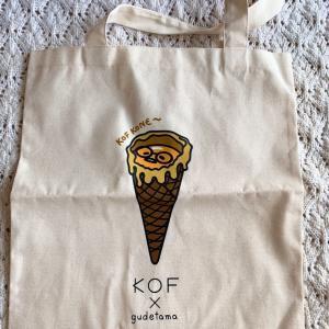 【購入】KOF×ぐでたま トートバッグ@タイ