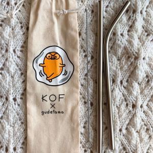 【購入】KOF×ぐでたま 携帯ストロー@タイ