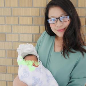 退院日♡赤ちゃん初めて我が家へ