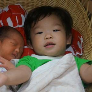 東京乳母車に二人で寝ちゃったよ 子育て必需品