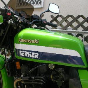 KERKER Z1000Rにステッカー