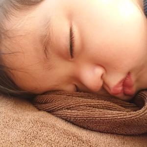 ぐっすり寝たい。1歳3ヶ月のお子様と一緒にご来店