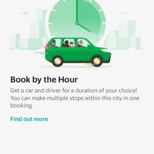 場所によってはGrabのチャーターがアプリからできる。マレーシアはまだないかな?