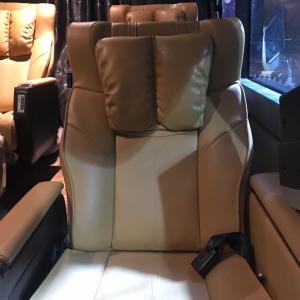 各座席がマッサージチェアーの長距離バス